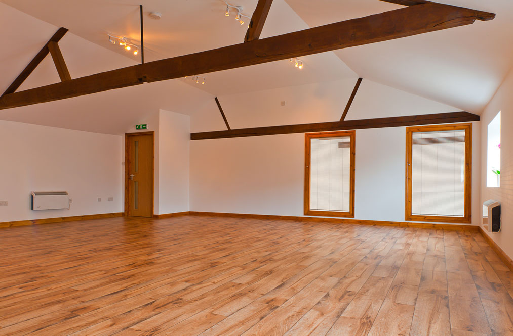 Hummingbird Yoga & Pilates upstairs studio